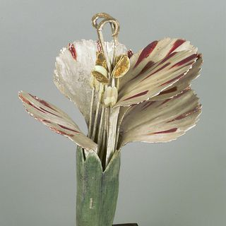 10080 Botanical model, Dianthus caryophyllys, Caryophyllaceae (Pink), mixed media, Dr Auzoux, Paris, France, c. 1880
