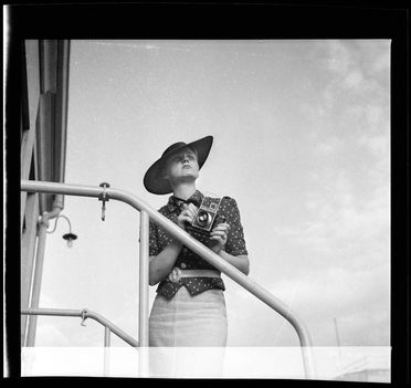 2007/30/1-69/2/101 Photographic negatives (12), black and white, in glassine sleeve, photographs by Dahl and Geoffrey Collings, [Spain and England], [1930s]