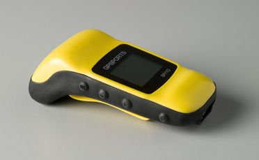 2005/160/1 Wearable GPS tracking device and accessories, 'SPI-10 Sports Performance Indicator', various materials, designed and made by GPSports Systems Pty Ltd, Acton, Australian Capital Territory, Australia / Vietnam, 2003