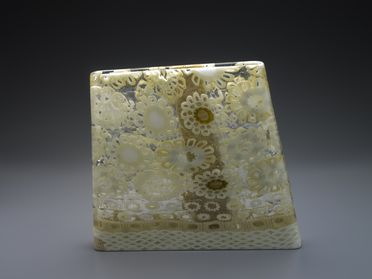 2010/71/1 Vessel, 'Lace 2010', blown glass with murrini, designed and made by Giles Bettison, Adelaide, South Australia, 2010