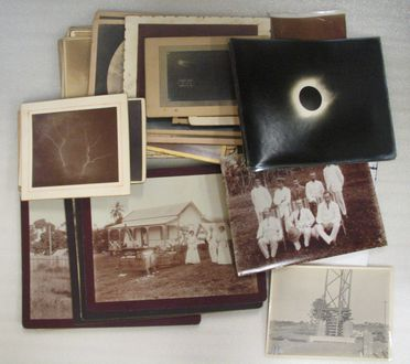 2005/124/1 Collection of photographs and postcard, relating to Sydney Observatory and Pennant Hills (Red Hills) Observatory, paper / card, various photographers, Sydney, New South Wales / Goondiwindi, Queensland, Australia / Tahiti, owned by James Short, 1890-1922