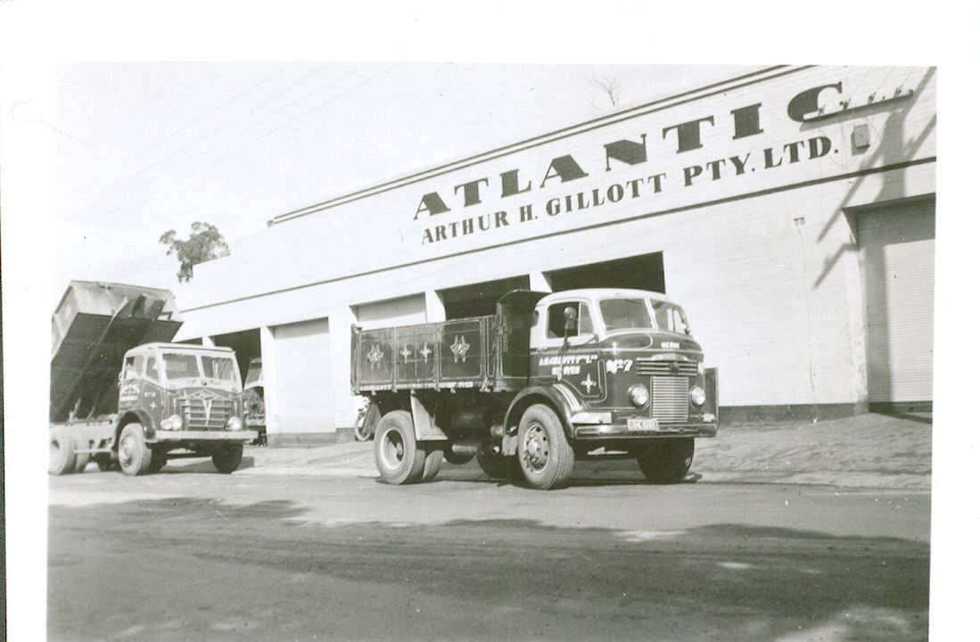 Arthur H. Gillott Pty Ltd transport archive - MAAS Collection