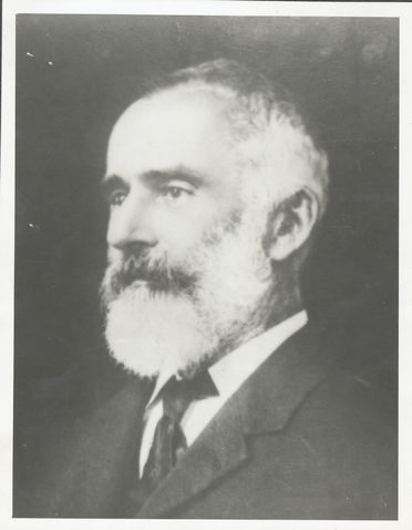 P2903-1/16 Photographic print, black and white, portrait of Lawrence Hargrave, c1912, copy print made c1977