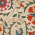 Image 5 of 12, 92/775 Suzani (needlework), embroidered, cotton / silk / glass, Bukhara, Uzbekistan, c.1800. Click to enlarge