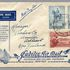 Image 1 of 1, 85/112-10 Philatelic cover, Jubilee air mail Australia to New Zealand, from Launceston, paper, maker unknown, Australia, 1935. Click to enlarge