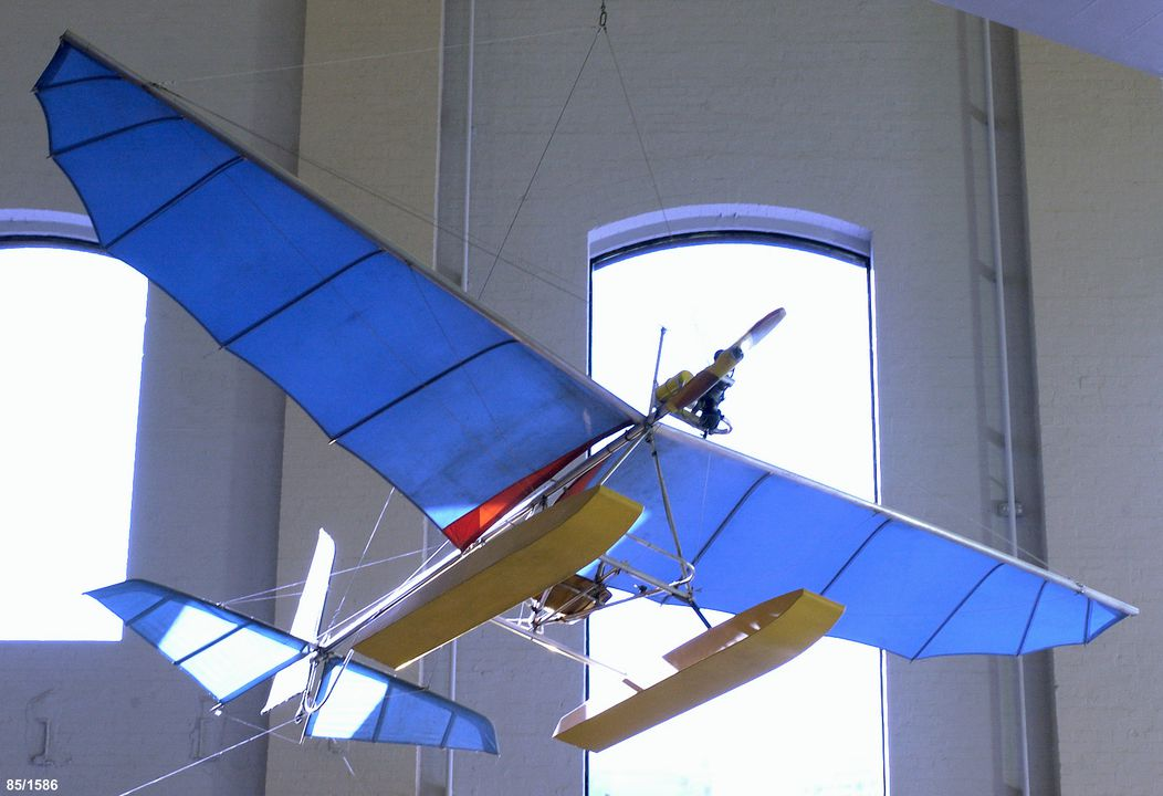 85/1586 Aircraft, full size, Skycraft Scout Mark I Microlight, ultralight, designed and made by Ron Wheeler, Australia, 1976-1978. Click to enlarge.