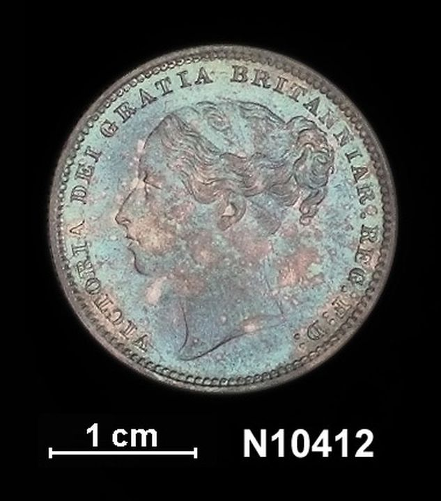 Coin, Shilling, Queen Victoria (1837-1901), silver, Great