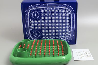 2001/56/1 Dish rack, 'Dish Doctor', polypropylene, designed by Marc Newson, manufactured by Magis, England / Italy, 1997-1998