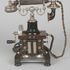 Image 4 of 11, B1204 Telephone, 'Skeleton Type' table model telephone, with combined handset, manufactured by L.M. Ericsson & Company, Stockholm, Sweden, 1892-1929. Click to enlarge