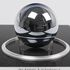 Image 1 of 4, 2016/32/1 Sphere with stand and case, silicon, made by Achim Leistner for CSIRO, Sydney, New South Wales, Australia, 1994. Click to enlarge