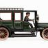 Image 1 of 8, 85/2560-12 Toy car, part of collection (1 of 36), limousine, Mercedes, metal, made by Carette & Co, Nuremberg, Germany, 1911. Click to enlarge