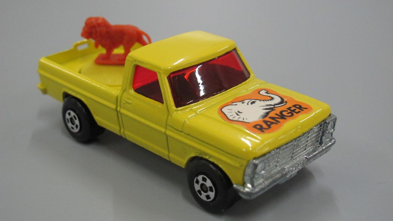 Toy, Matchbox, Wild Life Ford Truck, 'Ranger', No. 57