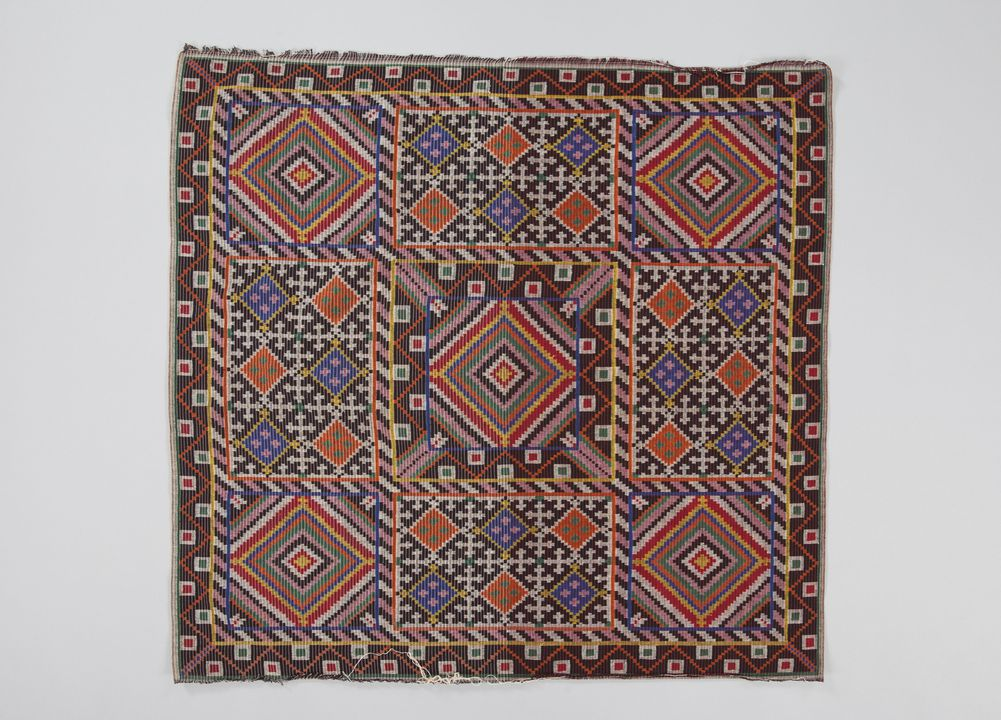 Tapestry woven headcloth, Philippines - MAAS Collection