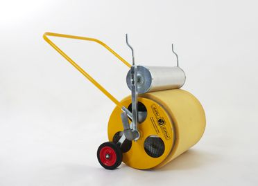 2001/76/1 Water removal system , 'Super Sopper', galvanised iron/ electroplated zinc/ polyurethane foam, invented by Gordon Withnall, developed and manufactured by Kuranda Manufacturing, Taree, New South Wales, Australia, 2001