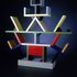 Image 2 of 9, 86/1015 Room Divider, 'Carlton', wood / plastic laminate, designed by Ettore Sottsass, made by Memphis, Italy, 1981. Click to enlarge