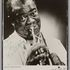 Image 1 of 2, 2012/27/13 Photograph, publicity, Louis Armstrong, autographed, paper / chipboard, photographer unknown, United States of America, used by Max Moore, Australia, 1956. Click to enlarge