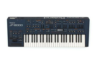 2021/43/1 Keyboard instrument, Roland JP-8000 virtual analog synthesiser, plastics / rubber / metal / electronic components, designed and manufactured by Roland Corp., Japan, 1996