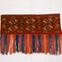 Image 1 of 2, 87/1526 Torba (tent bag), knotted pile weave, wool, by Tekke Turkmen woman, Turkmenistan, Central Asia, 1850-1900. Click to enlarge