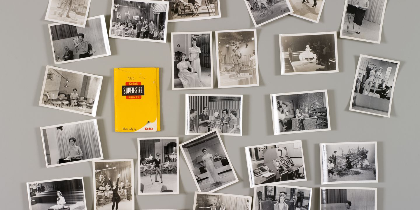 2008/186/1 Photographs (29), showing ABC television studios, contained in envelope, paper, photographed by Bob Eaton, printed by Kodak, Sydney, New South Wales, Australia, 1959-1961. Click to enlarge.
