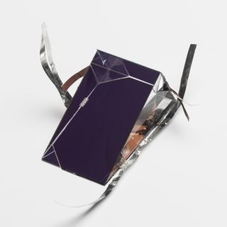 2016/46/1 Photovoltaic mini-module, 'Spectrum Splitting Prism', glass / silicon cell / triple-junction cell, designed and made by the Australian Centre for Advanced Photovoltaics, University of New South Wales, Sydney, New South Wales, Australia, 2014-2016