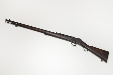 H9601 Rifle, Martini Henry Mk II with cleaning rod, Queensland Government markings, Enfield, Great Britain (OF)