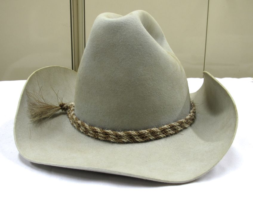 9a26bbcb0a1ce Dick Smith s cowboy hat - MAAS Collection
