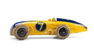 2008/158/1-1 Toy car (1 of 6), part of collection, 'MG Magnette (23a)', metal, Meccano Ltd, Liverpool, England, 1934-1940, used Wyatt family, Hobart, Tasmania / Roseville, New South Wales, Australia, 1935-1942