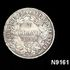 Image 1 of 1, N9161 Coin, One Franc, silver, France, Third French Republic, 1895. Click to enlarge