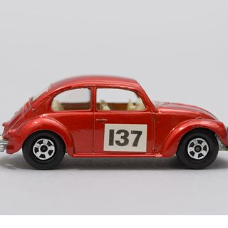 85/1115 Toy cars (3) and toy trucks (4), Matchbox, England, 1956-1974