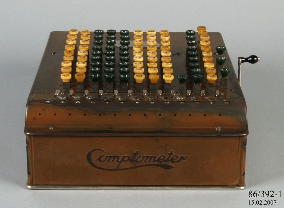 felt and tarrant comptometer serial number