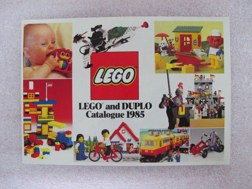 Lego and Duplo catalogue 1985 - MAAS Collection