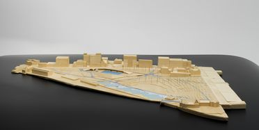 2014/70/1 Collection of design and presentation models (20), Prince Alfred Park Pool, designed and made by Neeson Murcutt Architects, Australia, 2006-2011