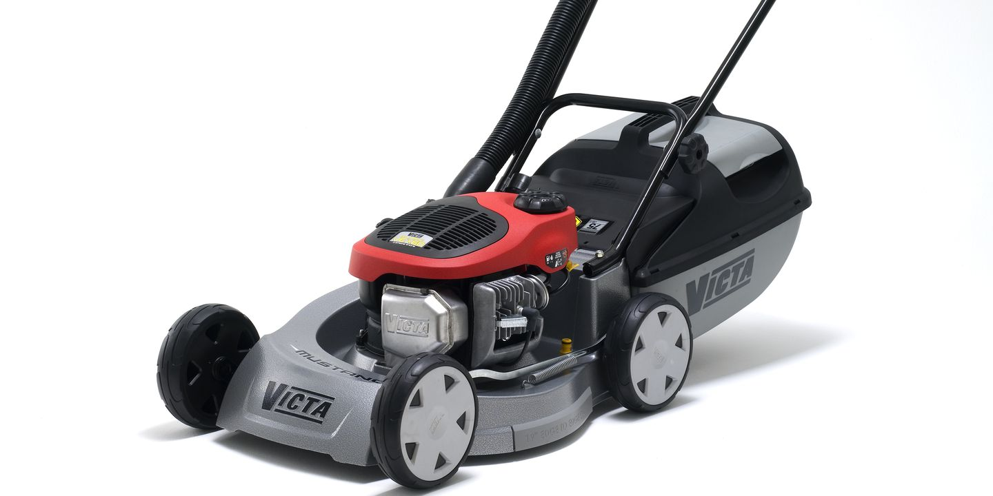 Victa Mustang Lawnmower With Eco Torque Engine Maas