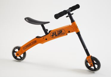 2013/46/1 Folding bicycle with manual and packaging, 'FlipBike', steel / plastic / paper, designed by Ideation Design and Flipbike Pty Ltd, Melbourne, Victoria, Australia, made in China, 2011
