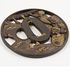 Image 22 of 71, A5308 Collection of 125 tsubas (sword guards), various makers, metal, Japan, 1700-1900. Click to enlarge