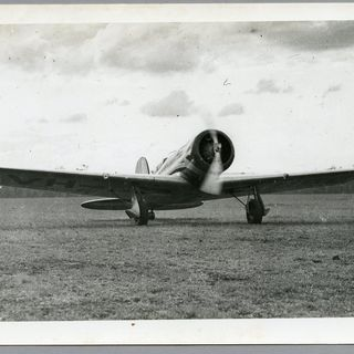 85/112-30 Photograph, black and white, 'The Lady Southern Cross before trans-Pacific flight', paper, photographer unknown, Archerfield, Queensland, Australia, 1934