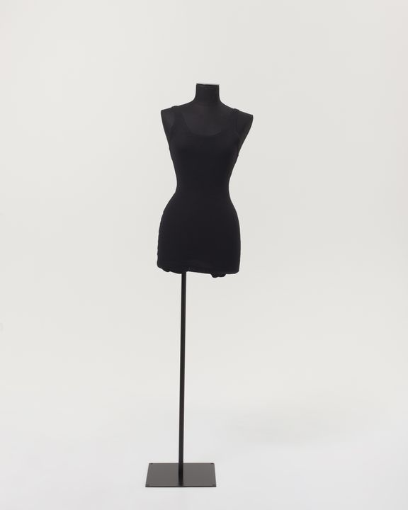 2000/66/141 Swimsuit, knitted wool, Annette Kellerman brand, made by Asbury Mills, United States of America, 1920-1960. Click to enlarge.