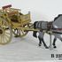 Image 1 of 1, B2254-6 Horsedrawn vehicle model, gig, made by Edward Manners, North Ryde, NSW, 1970-1976. Click to enlarge