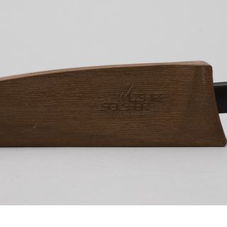 97/125/1 Knife and scabbard, Wiltshire Staysharp MKI, metal/plastic, designed by Stuart Devlin, made by Wiltshire Cutlery Company, Melbourne, Victoria, Australia, 1969
