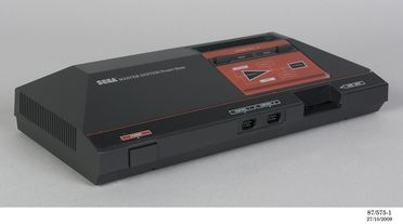 87/575 Computer video game system, The Sega Master System, plastic / electrical components, Sega Enterprise Ltd, Japan / Taiwan, 1986