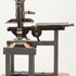 Image 9 of 15, 95/223/29 Printing press, Albion, no. 3929, metal / wood, made by Hopkinson & Cope, England, 1860, used by F T Wimble & Co, Australia, 1866. Click to enlarge