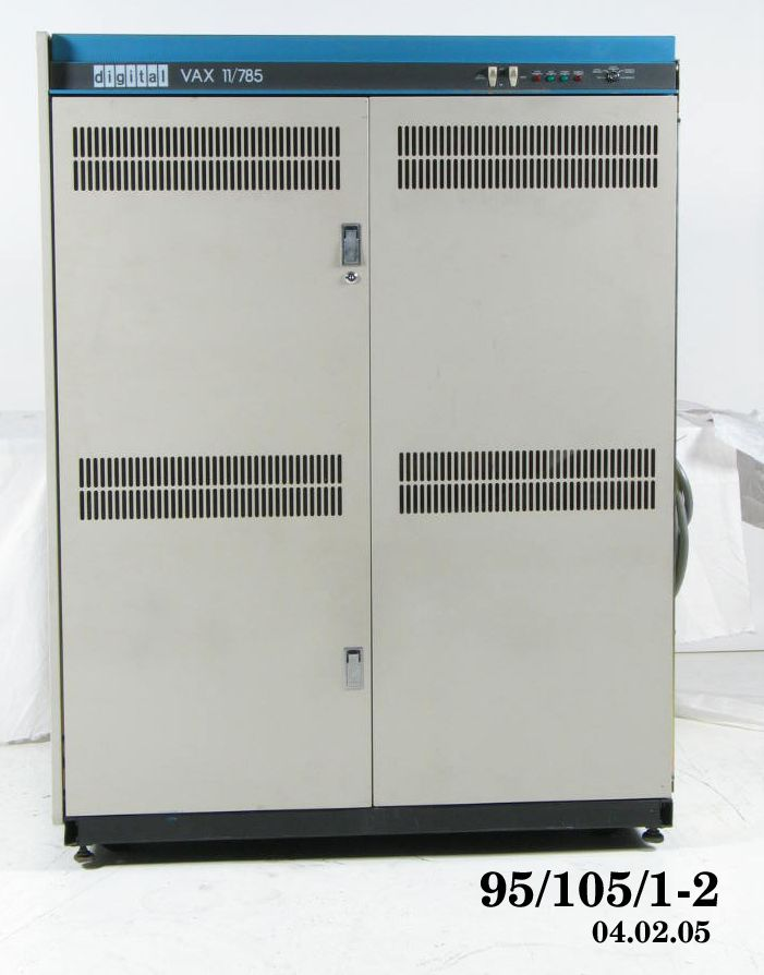 Central processing unit, VAX 11/785 computer, metal