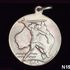 Image 2 of 2, N15018-1 Medal, School children's Victory medal, NSW, 1945, red/white/blue ribbon.. Click to enlarge