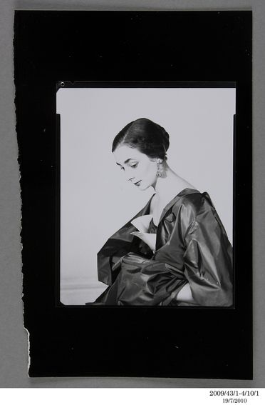 2009/43/1-4/10 Photographic prints, black and white, fashion mixed, photographs by Bruno Benini, some styling and props by Hazel Benini, Melbourne, Victoria, Australia, 1955-1985