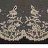 Image 2 of 8, H3692 Lace borders (2), Carrickmacross applique, linen and cotton, Ireland, [late 1800s]. Click to enlarge