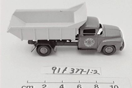 1df3033eda Toy truck and packaging of a Ford Micro Quarries
