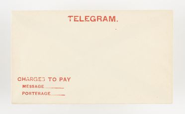 98/2/78-11/2 Telegram envelope (1 of 16), 'Charges to pay', paper / ink, Australia Post / Postmaster Generals Department, Australia, 1883-1987