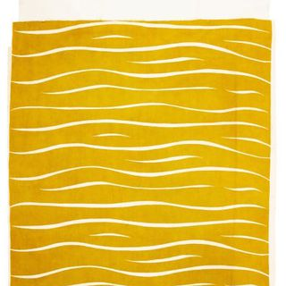85/2453 Textile length, 'Tiger stripe', screen-printed cotton, designed by Frances Burke, manufactured by Burway Prints, Melbourne, Victoria, Australia, 1939-1942