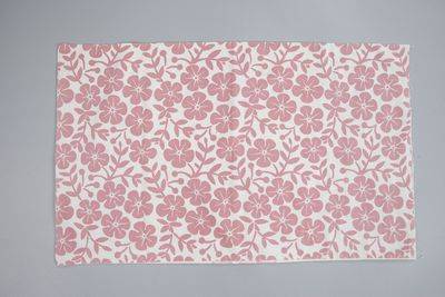 85/1764 Pillow case, screenprinted cotton, Frances Burke, Melbourne, Australia, mid 1950s