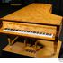 Image 5 of 23, 99/88/1 Grand piano with cover, Huon pine / King William pine / casuarina / metal, Stuart & Sons, Newcastle, New South Wales, Australia, 1998-1999. Click to enlarge